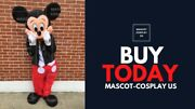 Mickey Mouse Mascot Costume Cosplay Adult