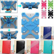 Universal Soft Silicone Stand Cover Case For Various 7' Model Tablet Protective