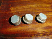 Vintage Trumpet Valve Buttons Silver And Pearl Matching Set Conn  King