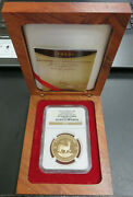 2012 South Africa 1oz Gold Krugerrand 45th Annv Mintmark Ngc Pf70 Ultra Cameo