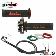 Quickness Throttle Control Xm2 Domino+two Grips+cable For Aprilia Rsv4 2009