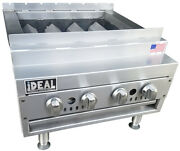 New 24 Commercial Shish Kabob From Ideal Cooking Products. Made In Usa. Etl