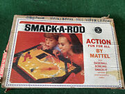 Smack-a-roo Vintage 1964 Mattel Baseball Bowling Smack-it Game - Missed One Ball