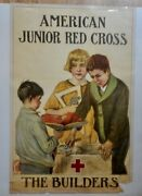 Original 1920and039s American Junior Red Cross Poster By Anna Milo Upjohn The Builder