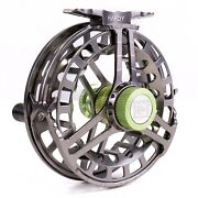 Hardy Ultradisc Reel - Gunmetal - Free Line And Backing - Free Fast Shipping