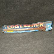 Blue Flame Lla-cm Angle Log Lighter New In Package Has Surface Rust