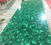 52and039and039x30and039and039 Green Marble Table Top Coffee Dining Center Inlay Lapis Malachite Z125
