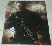 Liam Hemsworth Signed Expendables Billy The Kid Promo 8x10 Photo Autograph Coa
