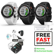 Garmin Approach S62 Gps Golf Watch With Power Bank Case And Earbuds Bundle