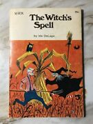 Vintage The Witchand039s Spell Written By Ida Delage And Illustrated By Gil Miret