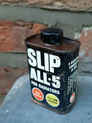 Whiz- Slip All-5 For Radiators-vintage Tin 1960and039s/1970and039s