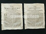 1794 Letter By British Canada General Battle Fallen Timbers Ohio Indian War