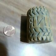 Rare 1700s Early Religious Inri Ihs Butter Cookie Waffer Mold Prob. From Church