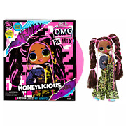 Lol Surprise Omg Remix Honeylicious Fashion Doll, 25 Surprises With Music
