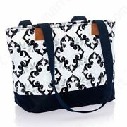 Thirty One Demi Day Tote Lunch Cosmetic Bag Purse Zip 31 Gift In Fab Flourish
