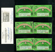 Us Lot 7 Clean Rw23 Duck Stamps On Official Wisconsin Conservation Booklets