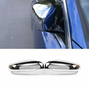 Outside Rearview Mirror Frame Trim 2pcs For Bmw 3-series G20 2019-2021 Chrome