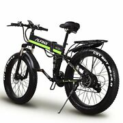 Electric Bike 1000w Super Snow Bicycle 48 V Increase Tires Speed 0-45km 5 Gear