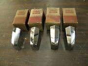 Nos Oem Ford 1953 Truck Pickup Grille Bar Ornaments Trim - Group Of 4