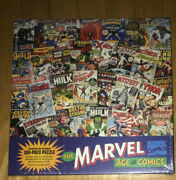 Springbok Jigsaw Puzzle The Marvel Age Of Comics 300 Pc Comic Book Covers New