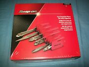 New Snap-on™ 6-pc Heavyduty Pliers Set Pl600es2pk Red Sealed