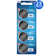 Renata Cr2477 Battery 3v Lithium Coin Cell Cr2477 Batteries 25 Count