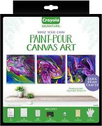 Crayola Paint Colors Signature -pour Canvas Art Painting Kit Gifts For Teen Girl