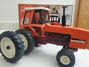 Allis Chalmers 7030 Duals Maroon Belly Toy Tractor Times 20th Anniversary 2003