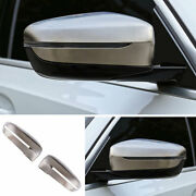 For Bmw M340i 3-series 2019-2021 G20 Gray Trim Cover Rearview Mirror Landr Decor