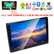 2din 10.1 Android 8.1 Bluetooth 1gb+16gb Universal Car Stereo Radio Gps Nav Mp5