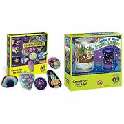 Glow In The Dark Rock Painting And Grow And Glow Terrarium Kit