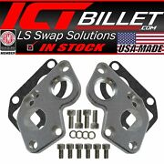 Ls Electric Water Pump Adapter Plates Converts Bbc Pump To Ls Engine