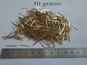 50 Grams Gold Plated Gold Pins For Scrap Gold Recovery A