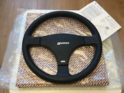 Atiwe Leather Steering Wheel 80and039s 90and039s Bmw Vw Honda Rare Vintage Oldtimer Nos