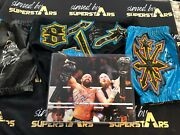 Eric Young Autographed Ring Trunks And Gear Nxt Wwe Impact Aew