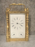 Early Calendar Carriage Clock Project