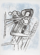 Roberto Matta Onze Formes Du Doute Lithograph Signed And Numbered In Pencil