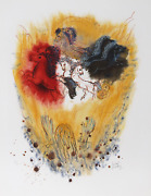 Reuven Rubin, Xi From Visions Of The Bible, Lithograph, Signed And Numbered In P