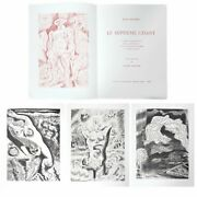 Andre Masson Le Septieme Chant Portfolio Of Four Etchings On Arches Signed An