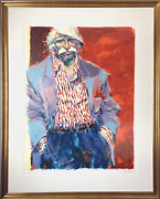 Aldo Luongo Last Days Of And03944 Screenprint Signed And Numbered In Pencil