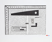 Allen Parker, Zero House, Etching With Aquatint, Signed And Numbered In Pencil