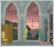 Thomas Mcknight, The Conservatory, Screenprint, Signed And Numbered In Pencil
