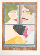Richard Lindner, An American Portrait, Lithograph, Signed And Numbered In Pencil