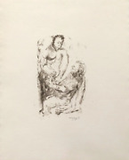Mark Tobey Dialogue Among Ancients Lithograph Signed And Numbered In Pencil