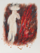 Reuven Rubin, Iv From Visions Of The Bible, Lithograph, Signed And Numbered In P
