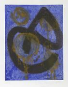 John Hoyland, The Sorcerer, Etching And Aquatint, Signed, Numbered, And Dated In