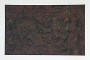 Pat Passlof Untitled 4 Monotype Signed And Dated