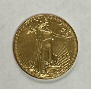 Unknown Artist Gold American Eagle 50 Dollar Coin