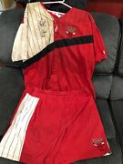 Public Enemy Ecw Autographed Ring Worn Tights And Jersey Ecw Wwe Wcw