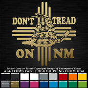 - Zia Don't Tread On Nm State Flag 1776 Snake New Mexico Sticker Decal